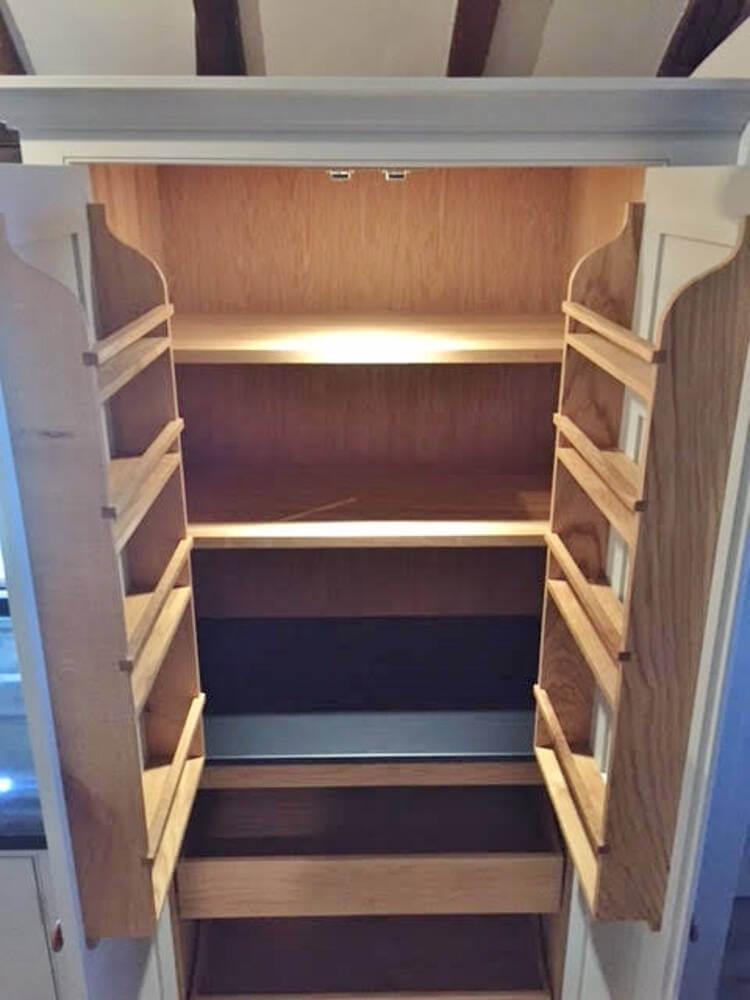 Slate larder shelf