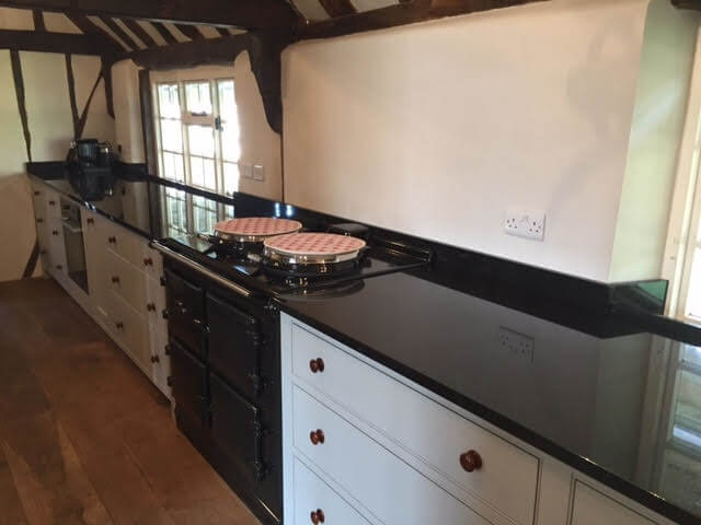 Granite Quartz & Marble worktops sussex Absolute Black Polished