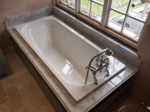 Bathroom worktops