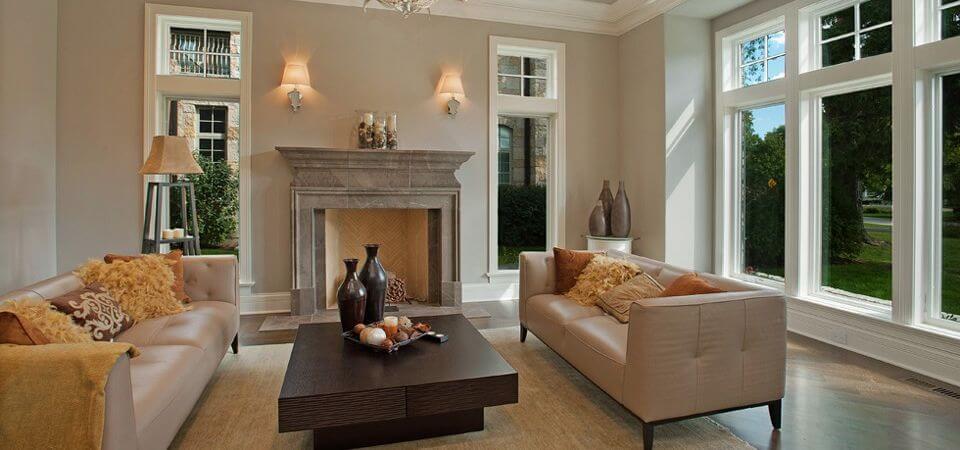 JF Stoneworks - stone fireplace