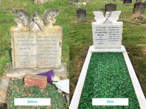 Memorial restoration